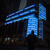 The Morgan Stanley digital sign is seen at the company's Times Square headquarters in New York, U.S., on Friday, Jan. 12, 2016. The investment company has agreed to a $3.2 billion settlement over misrepresentations of the risks of mortgage-backed securities leading up to the financial crisis.