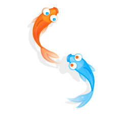 Skype's koi fish emoji
