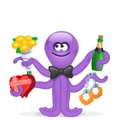 Skype octopus emoji