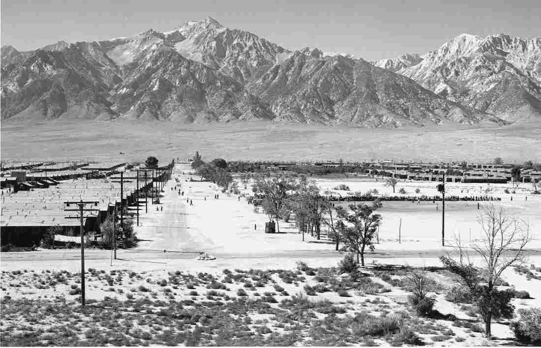 Manzanar from a guard tower.