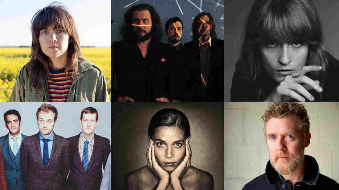 Top: Courtney Barnett, My Morning Jacket, Florence And The Machine. Bottom: The Punch Brothers, Rhiannon Giddens, Glen Hansard. Photos provided by the artists.