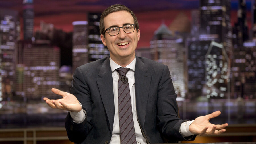 "John Oliver begins a new season of his comedy show Last Week, Tonight on Feb. 14. He says he wants to tackle the most challenging topics, ""whether that is trying to explain some of the NSA's detailed programs, or whether that's putting a cowboy hat on a cat."""