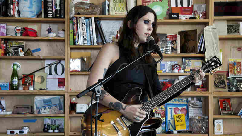 Tiny Desk Concert with Chelsea Wolfe.