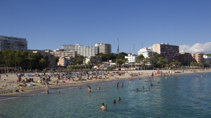 Mallorca's Mediterranean beaches are popular among tourists.