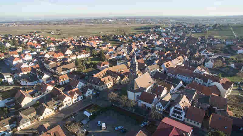 Donald Trump's paternal grandparents, Friedrich Trump and Elisabeth Christ, came from the southwest German village of Kallstadt.