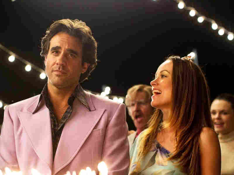 Bobby Cannavale and Olivia Wilde in the HBO series Vinyl.