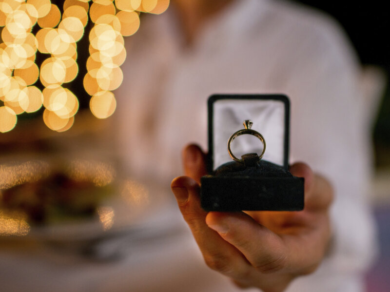 Dinner With A Side Of I Do's: For Restaurants, Proposals Are