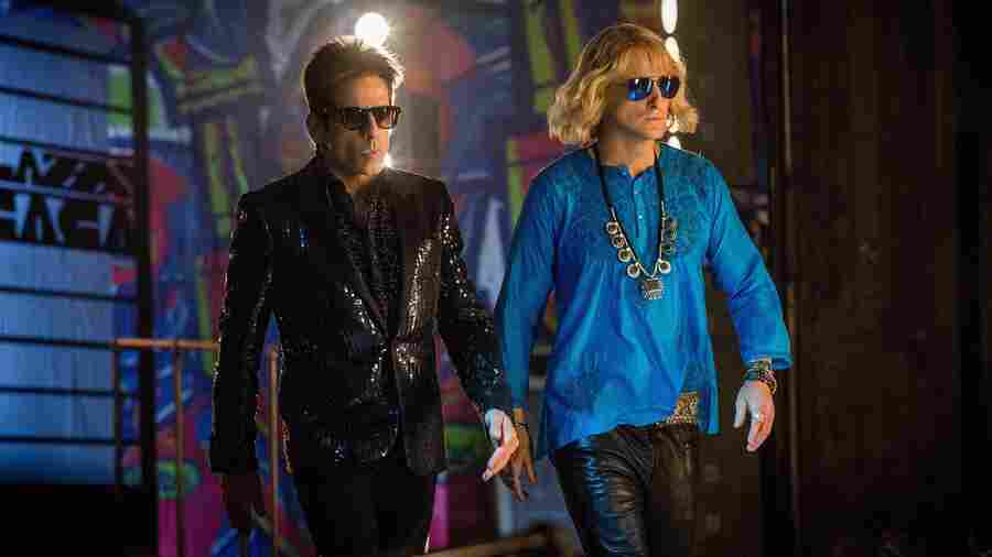 Ben Stiller plays Derek Zoolander and Owen Wilson plays Hansel in Zoolander 2.