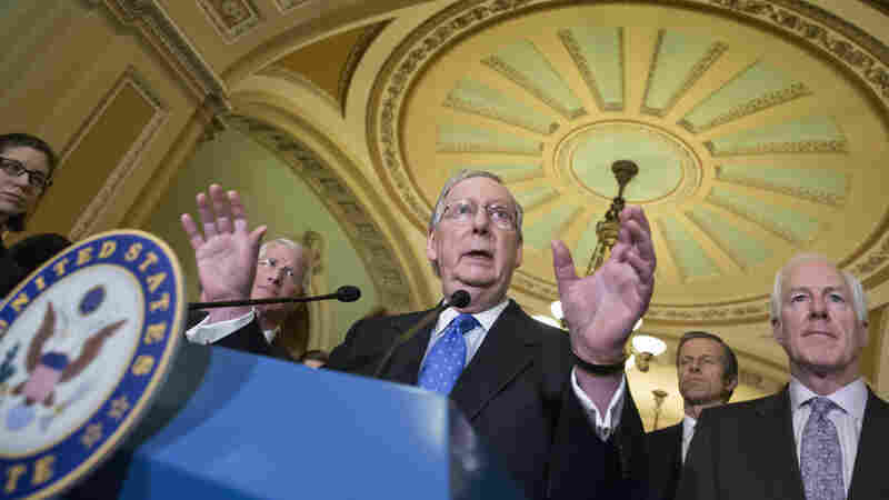 Senate Majority Leader Mitch McConnell of Kentucky is saying a nominee to the Supreme Court to replace the late Antonin Scalia should wait until there's a new president.