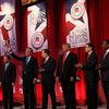 Republican presidential candidates at the final GOP before the South Carolina primary on Saturday at the Peace Center in Greenville, South Carolina.
