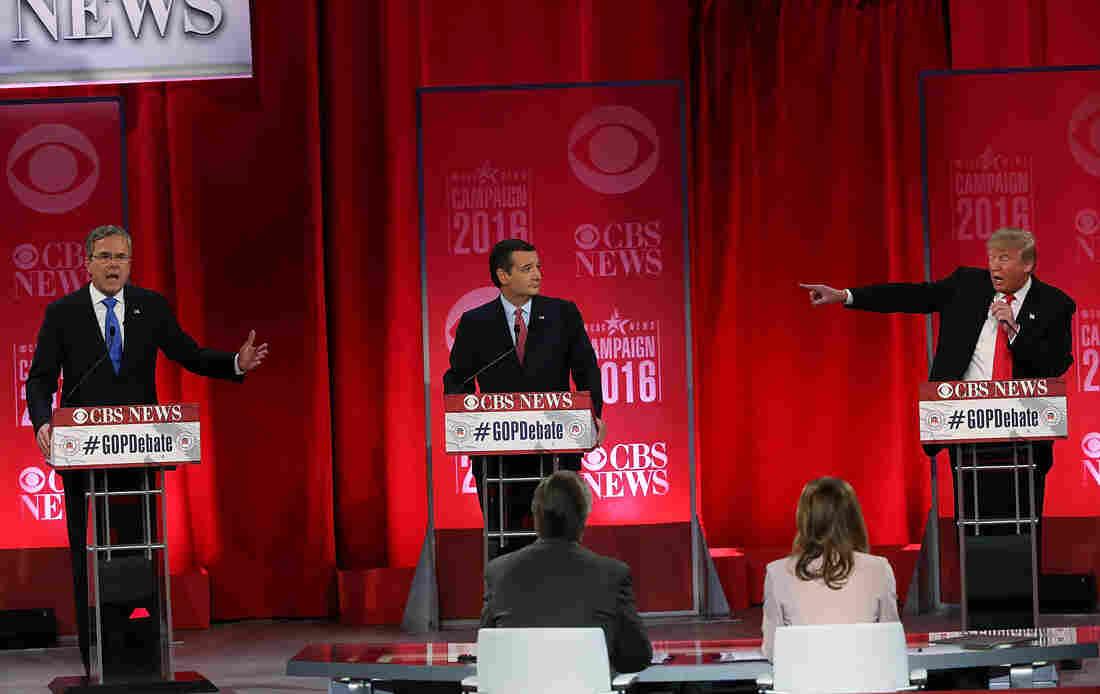 Republican presidential candidates participate in a CBS News GOP Debate in South Carolina.