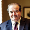 Justice Antonin Scalia at the Supreme Court in 2012.
