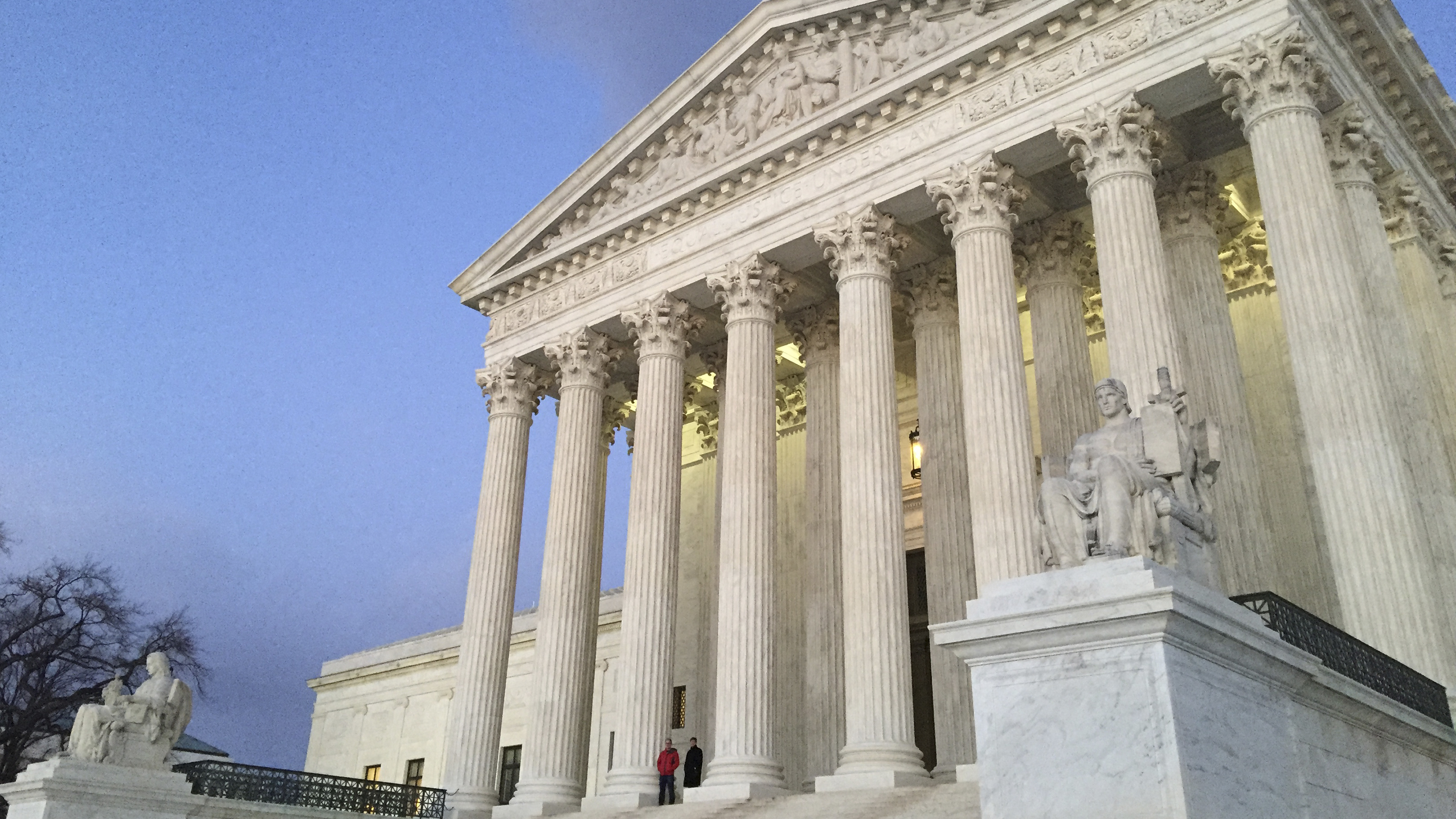How did justices vote on defense of marriage act