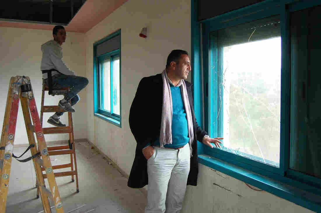 Tequa's deputy mayor Tayser Abo Mefreh says 18 Palestinians from his village were shot and wounded by the Israeli military in January alone.