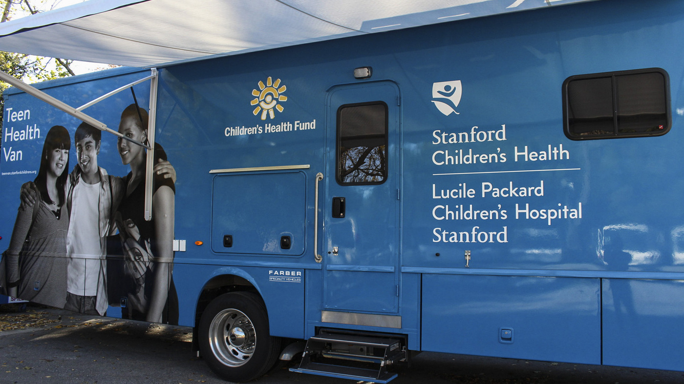 Teen Health Van Delivers More Than Medical Care To Homeless Youth