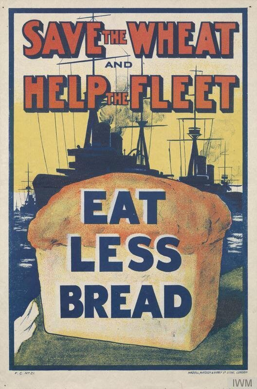 save the fleet, eat less wheat: the patriotic history of ditching