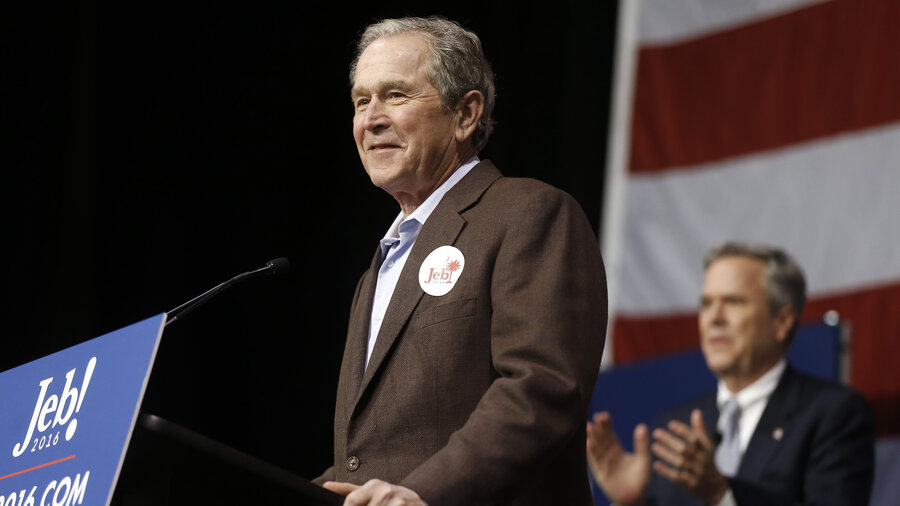 Jeb Bush Quotes Prepossessing W Is Back 6 Quotes From Campaigning For Jeb Bush  Npr