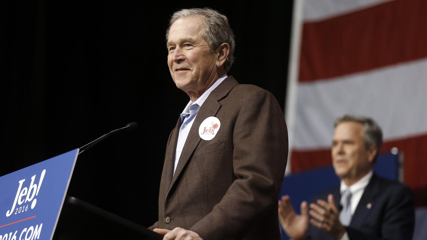Jeb Bush Quotes W Is Back 6 Quotes From Campaigning For Jeb Bush  Npr
