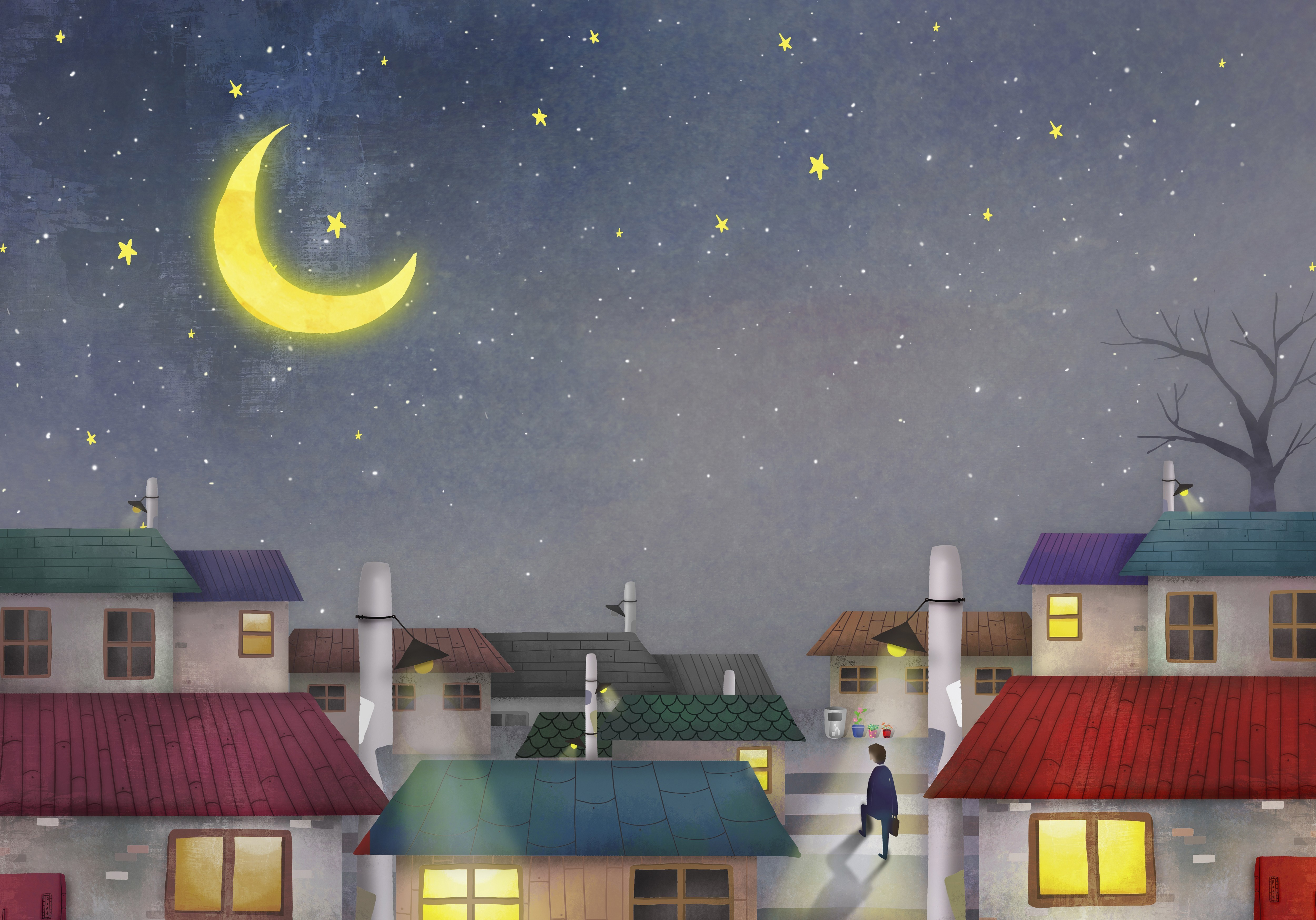 Should You Leave Your Lights On At Night? It Depends : NPR