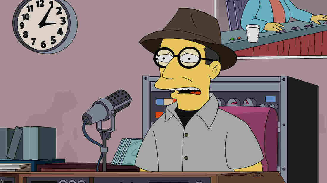 Bob Boilen as himself on The Simpsons.