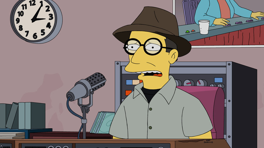 Bob Boilen so  i'm going to be on 'the simpsons' : all songs considered : npr