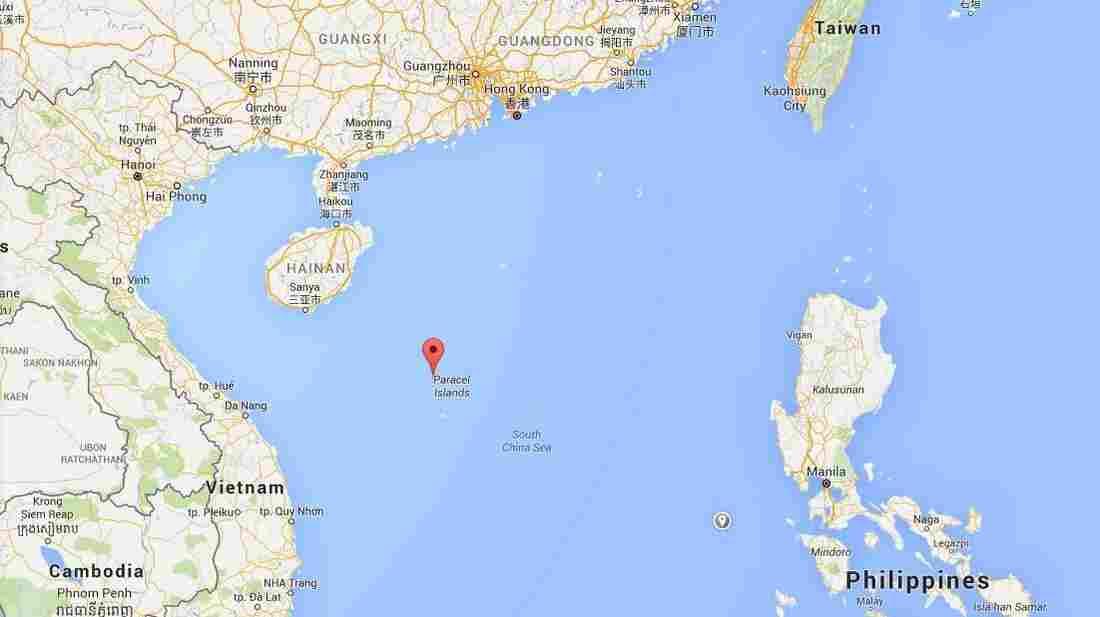South China Sea Island Chain