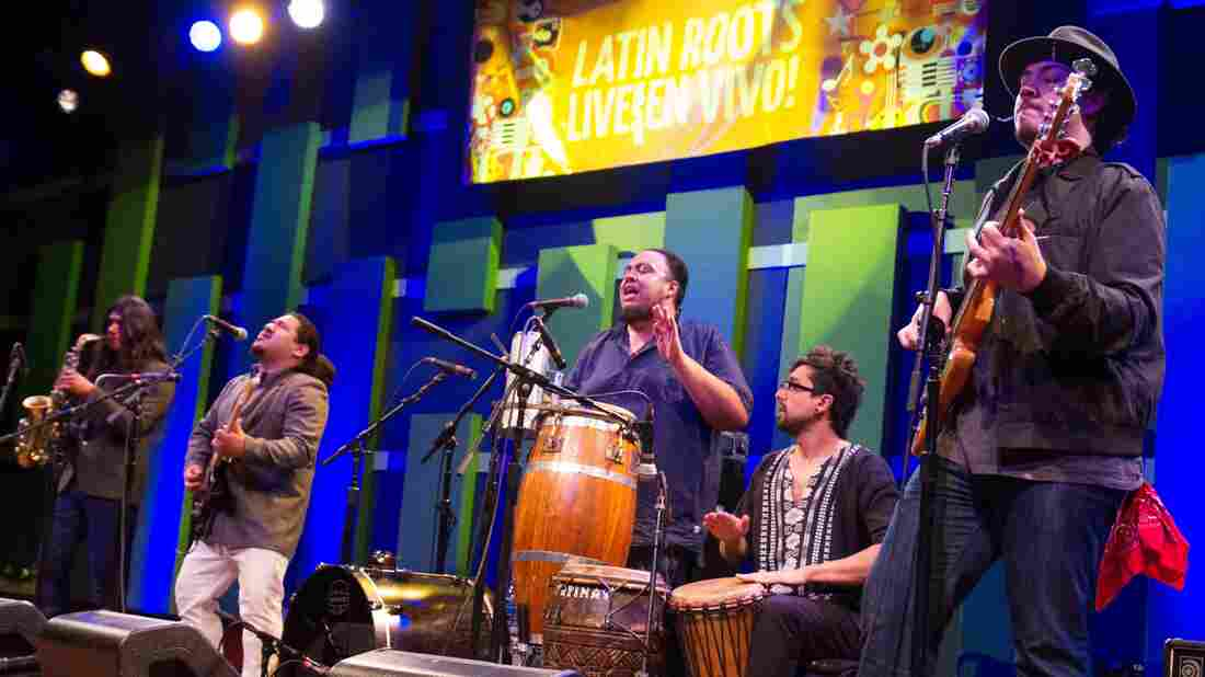 Buyepongo performs at World Cafe Live in Philadelphia.