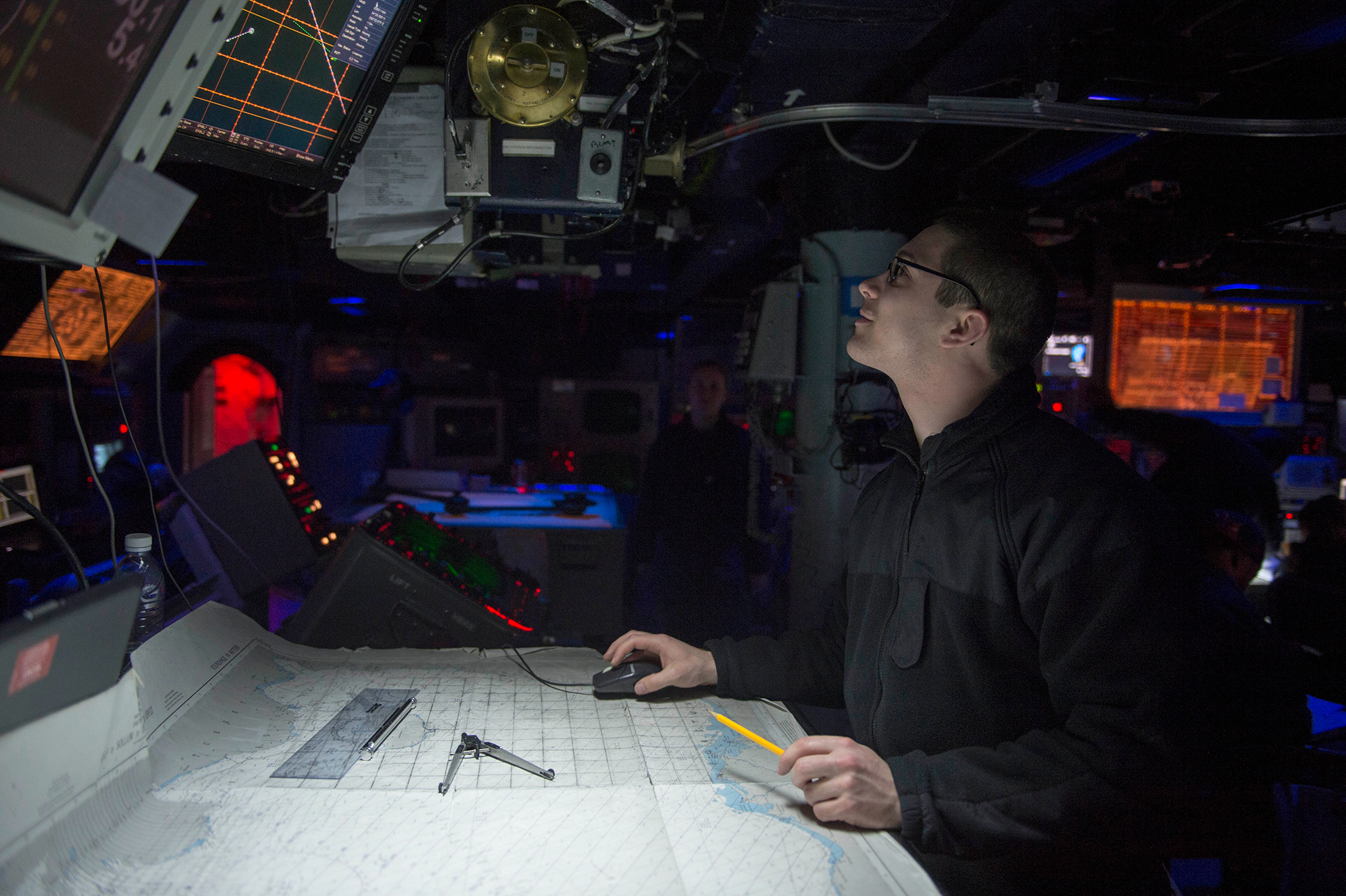 U.S. Navy Brings Back Navigation By The Stars For Officers