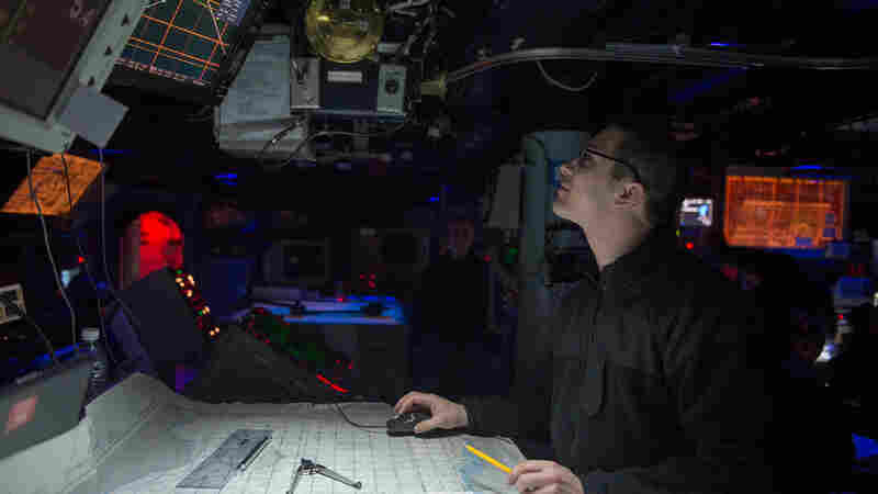 Navigation aboard the guided-missile destroyer USS Stout is done by computer, as is the case on many other ships. The U.S. Navy now wants more of its officers proficient in celestial navigation.
