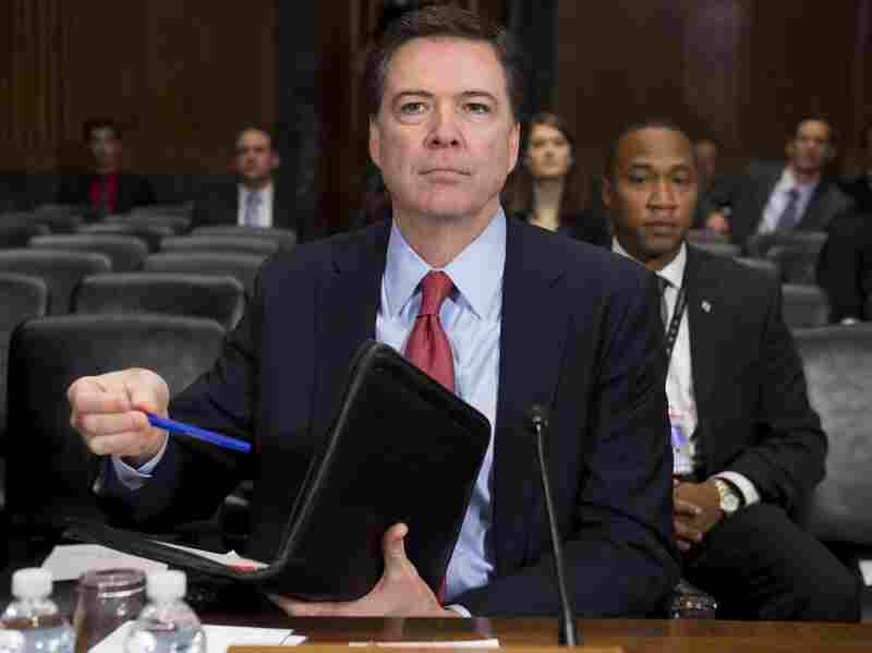 FBI Director James Comey has said enhanced security on cellphones and other devices blunts the bureau's ability to find terrorists before they strike or to prosecute them if they are caught.