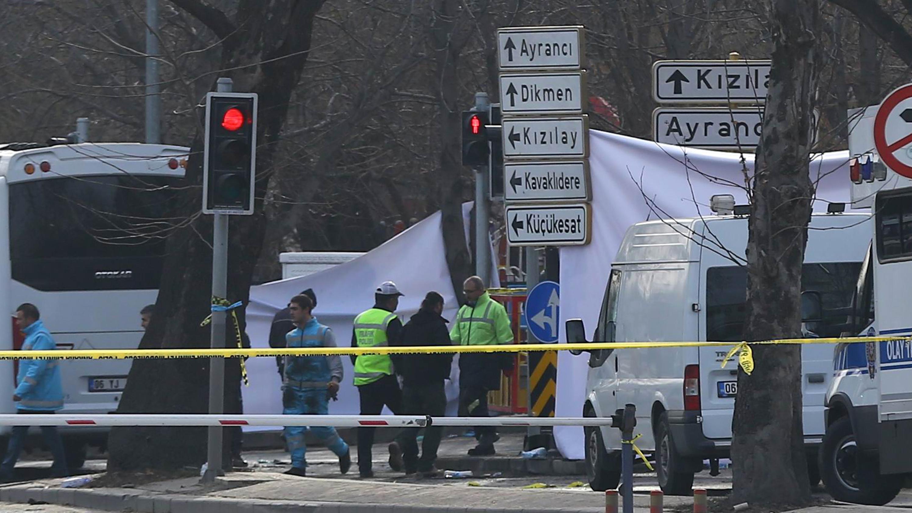 Turkey Arrests 14 Over Ankara Bombing; Leaders Blame Kurdish Groups