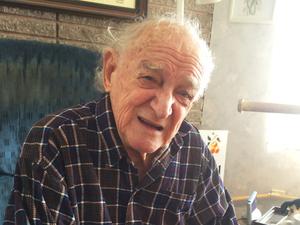 Bob Ebeling, now 89, at his home in Brigham City, Utah.