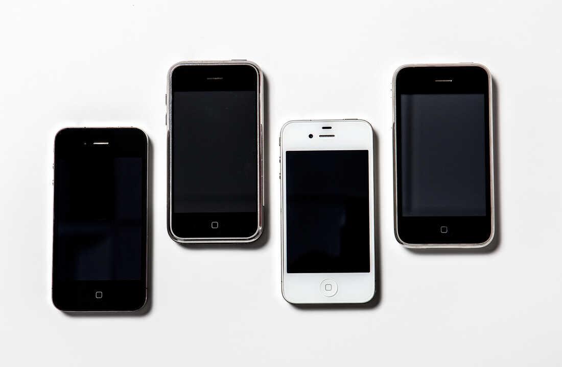 Apple iPhones.