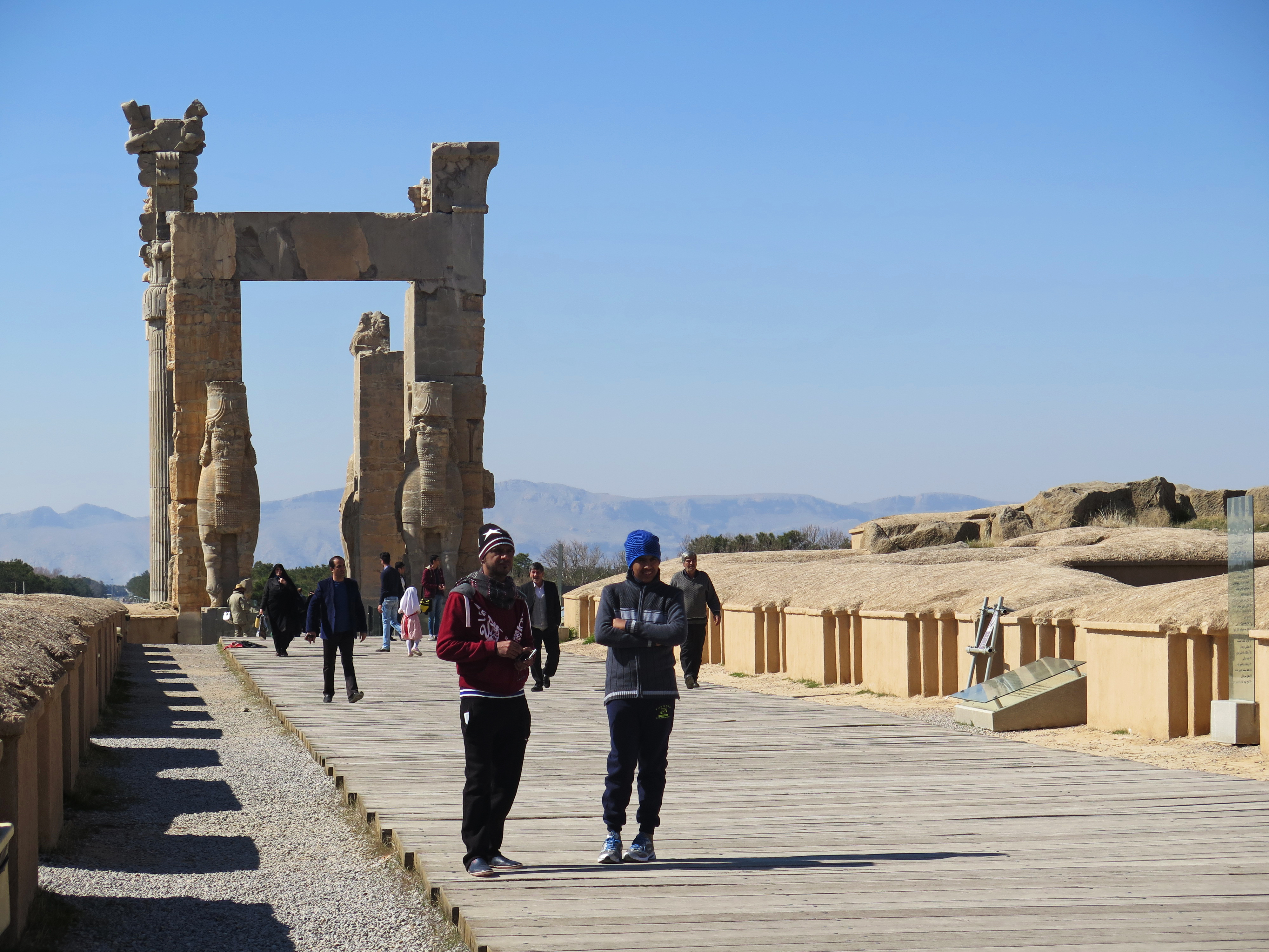 At Persepolis Iran S Grand Past Overshadows Its Frustrating Present Ncpr News