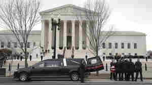 Antonin Scalia Lies In Repose As Mourners Pay Respects At Supreme Court