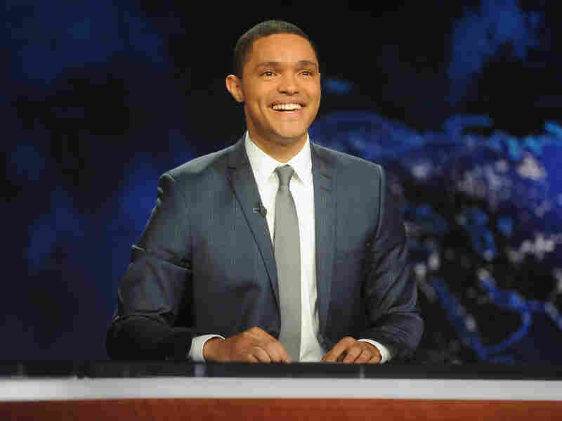 "Trevor Noah — who took over hosting from Jon Stewart in 2015 — remembers watching The Daily Show on CNN in South Africa. ""It looked like a news show and it had the same colors as CNN and the ticker,"" he says. ""I just worked under the assumption that it was part of the news programming. ... I thought that Jon Stewart was a news anchor who didn't take his job seriously."""