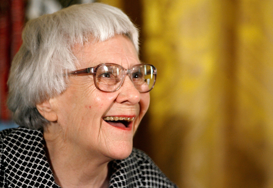 Pulitzer Prize winner and <em>To Kill a Mockingbird</em> author Harper Lee smiles before receiving the 2007 Presidential Medal of Freedom at the White House. (Chip Somodevilla/Getty Images)