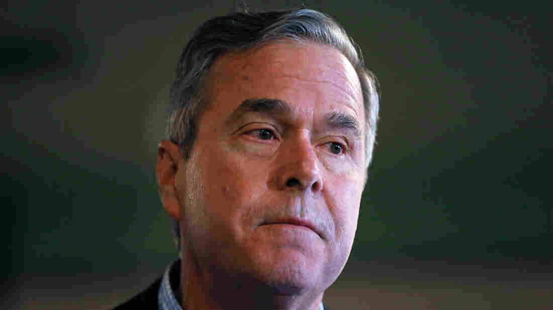 Republican presidential candidate, former Florida Gov. Jeb Bush listens to a question during a campaign stop at Wade's Restaurant on Friday in Spartanburg, South Carolina.