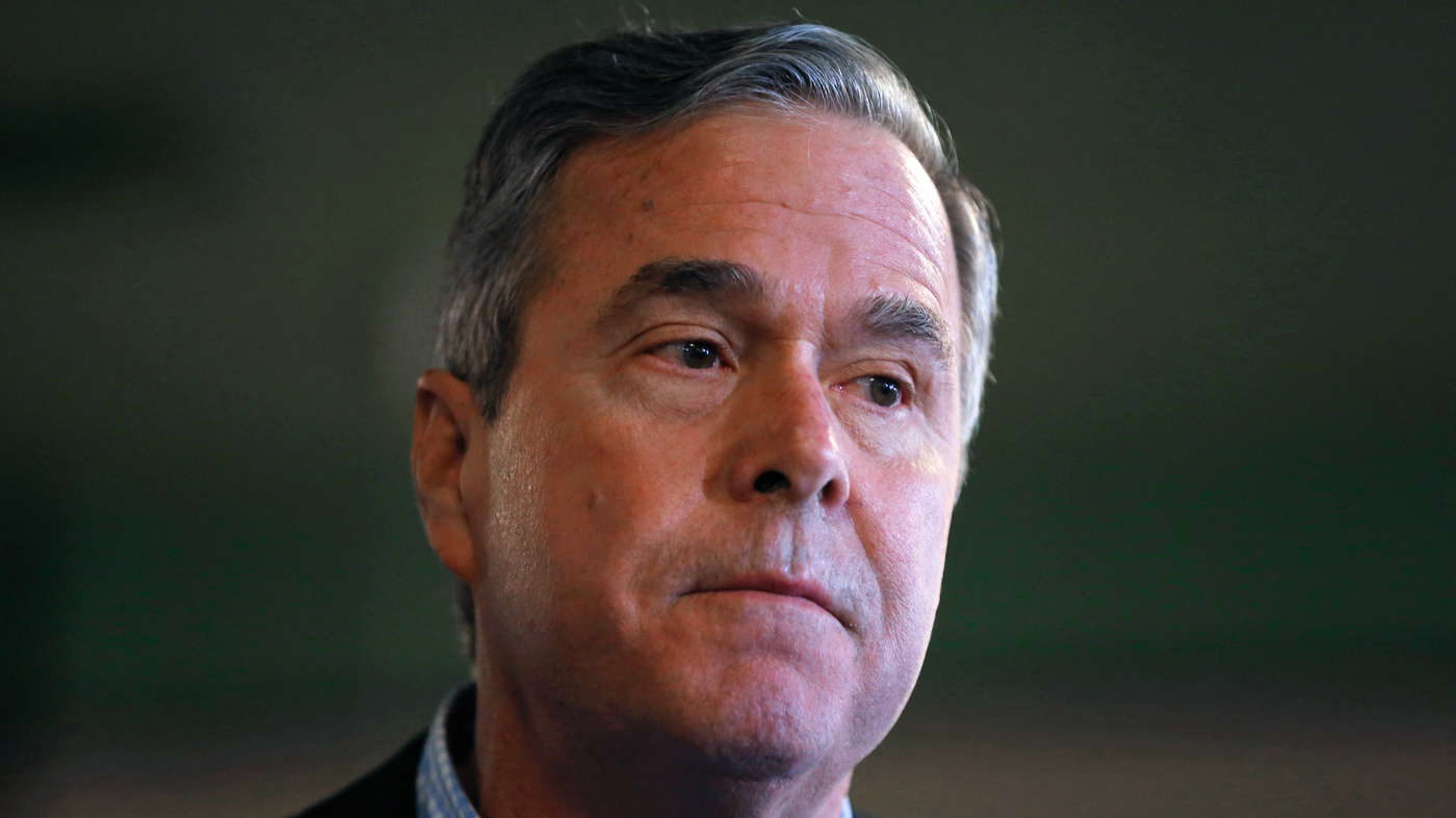 Jeb bush ends his presidential campaign npr