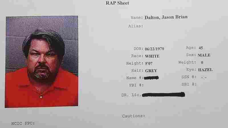 A mugshot and rap sheet of Jason Dalton, who police say went on a shooting spree that lasted for hours in Kalamazoo, Mich., on Saturday.