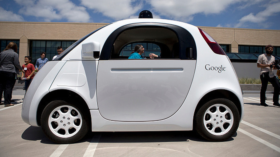 Google was told by the National Highway Traffic Administration earlier this month that the self-driving car system can be considered as a driver. (San Jose Mercury News/TNS via Getty Images)