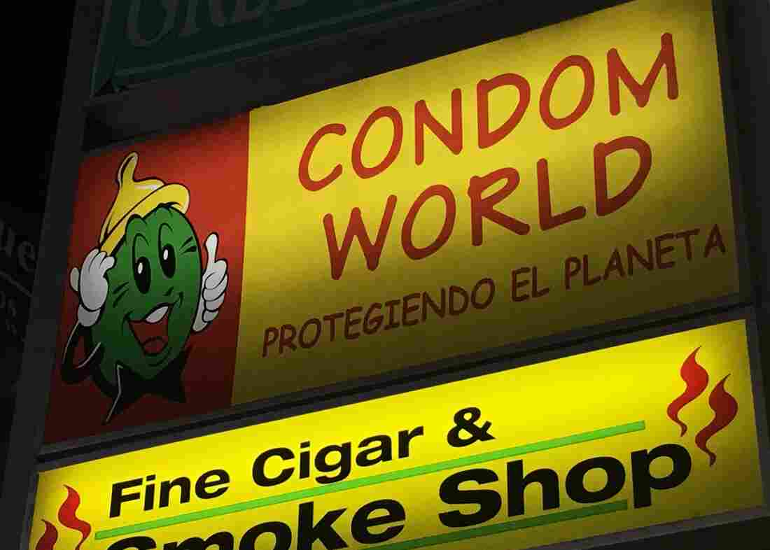 """""""Just because Zika is here, doesn't mean we're going to raise the price"""" for condoms, says sales clerk Coralis Ferrer-Marrero."""