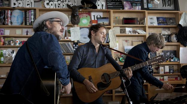 Tiny Desk Concert with Wilco. (NPR)