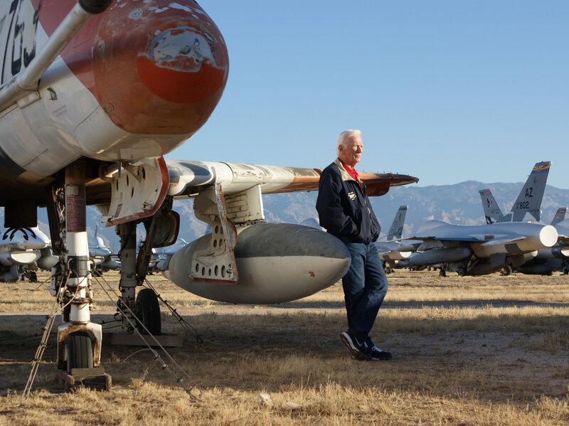 Astronaut Gene Cernan A-4 Skyhawk