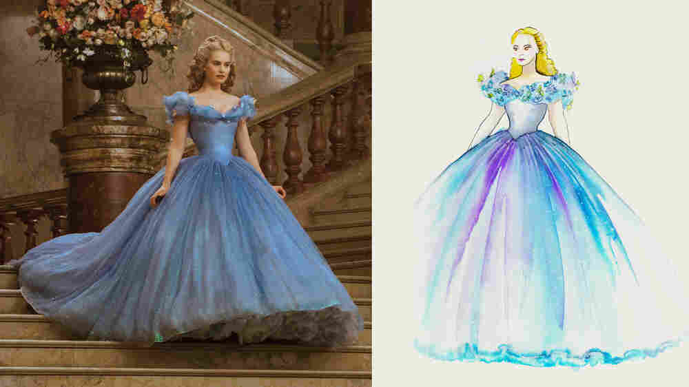 Sketch To Impress: How An Oscar-Winning Designer Costumes The Stars