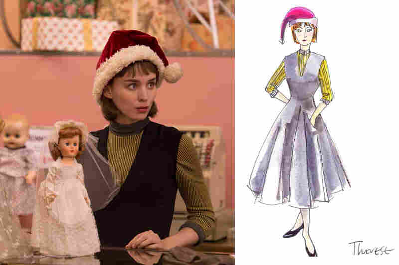 Sandy Powellu0027s sketches for the film Carol.  sc 1 st  NPR & Oscar-Winner Sandy Powell Costumes The Stars : NPR