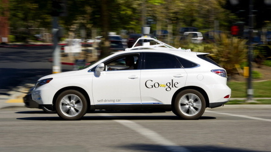 While other automakers are working on a gradual progression toward more automation in cars, Google has its eyes on a fully automated self-driving car. (Bloomberg via Getty Images)