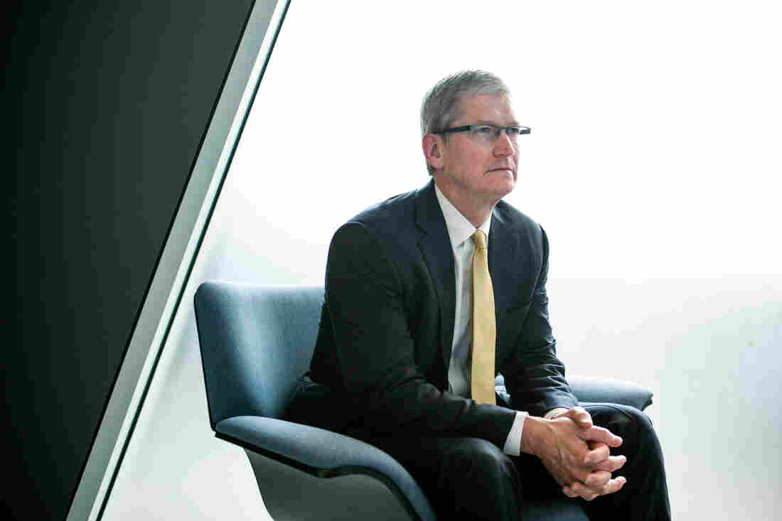 """Apple CEO Tim Cook says creating new software to break into a locked iPhone would be """"bad news"""" and """"we would never write it."""" He spoke with ABC News' World News Tonight with David Muir."""