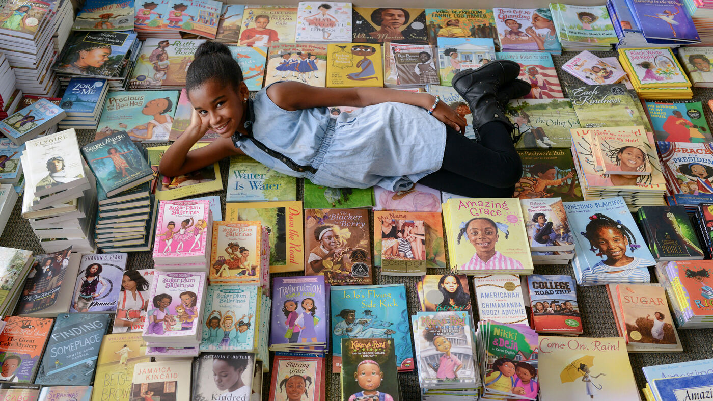 Where's The Color In Kids' Lit? Ask The Girl With 1,000 Books (And Counting)