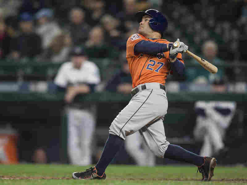 Jose Altuve, an All-Star second baseman with the Houston Astros, is one of many prominent major league players from Venezuela.
